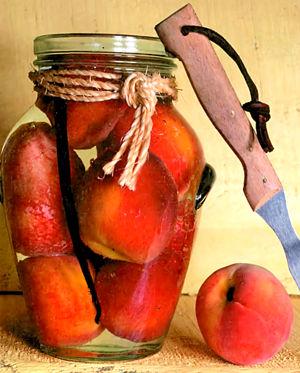 Консервация персиков в домашних условиях целиком