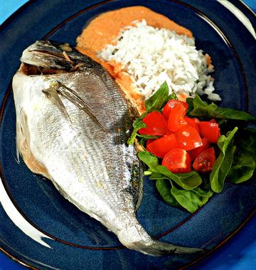 Морская рыба на пару Блюда из рыбы и морепродуктов Вторые ... Морская Рыба В Воде